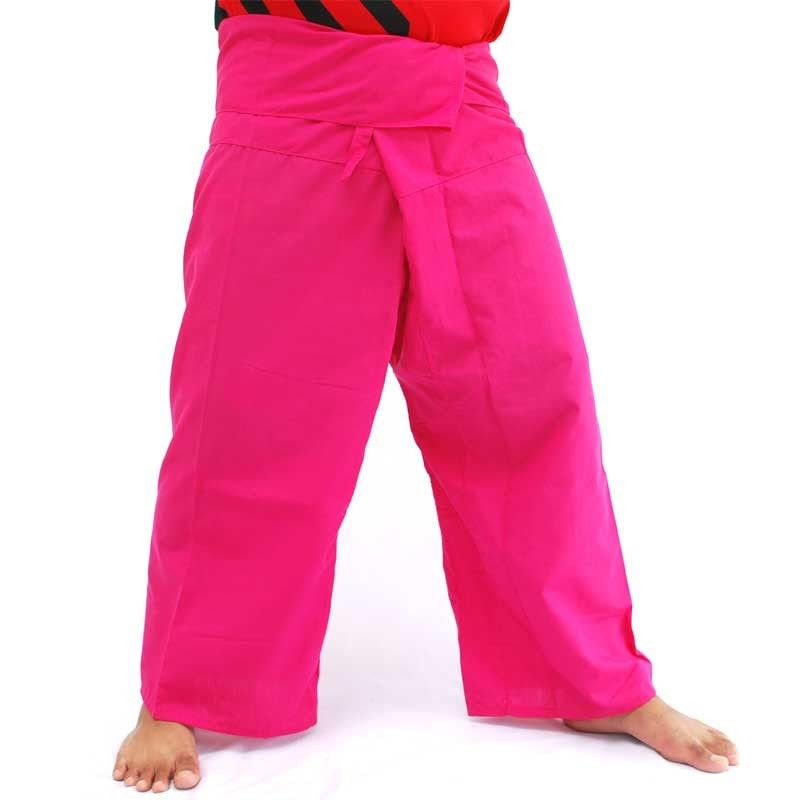 Thai Fisherman Pants - magenta