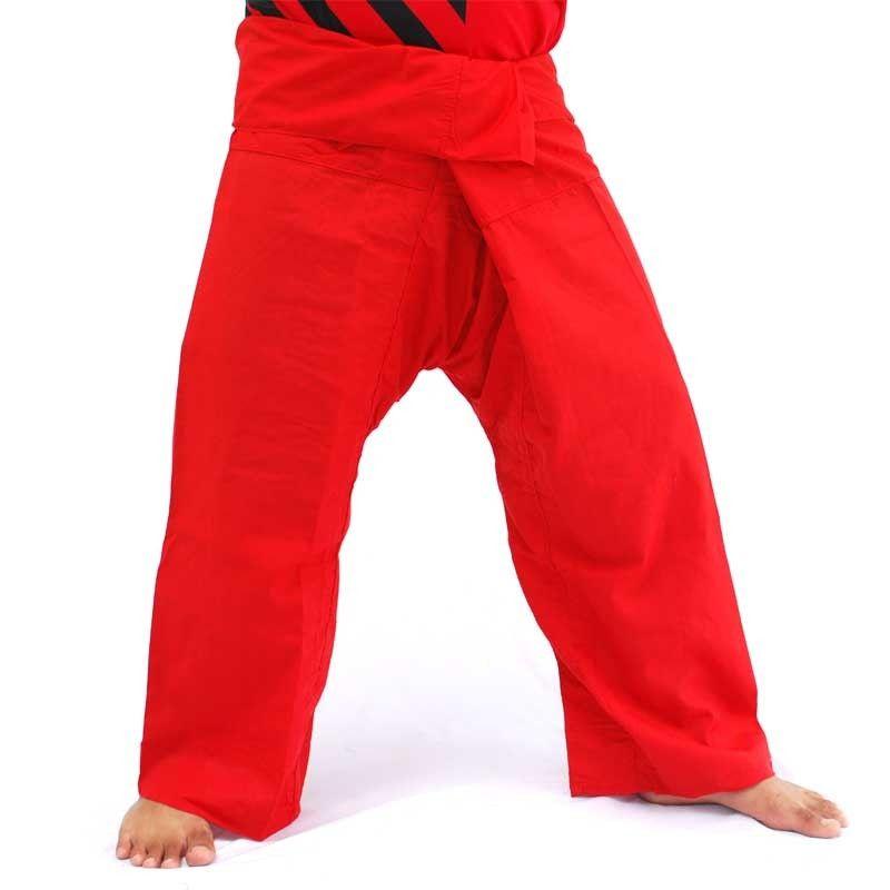 Thai fisherman pants - red