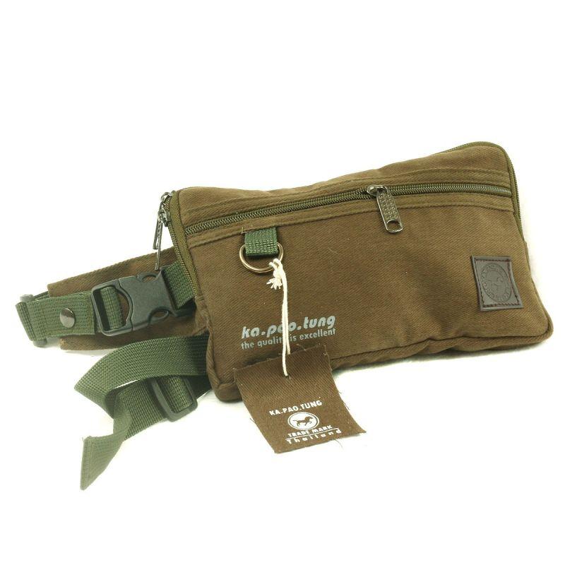 Ka Pao Tung money belt/money belt-olive green