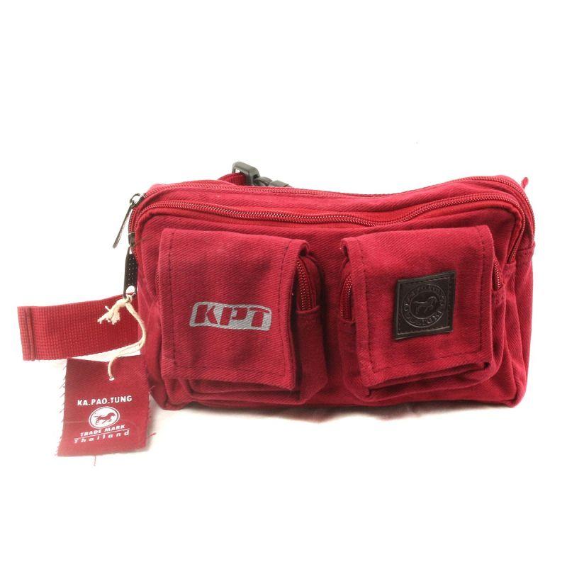 Ka Pao Tung Belt pouch/money belt Red