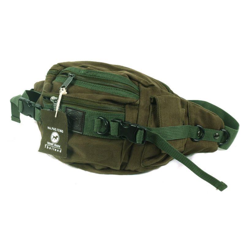 Ka Pao Tung hit bag - belt bag - beige, light brown, Khaki