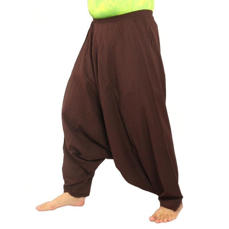 Aladdin Pants Baggy pants Sii Naam Thaan, brown