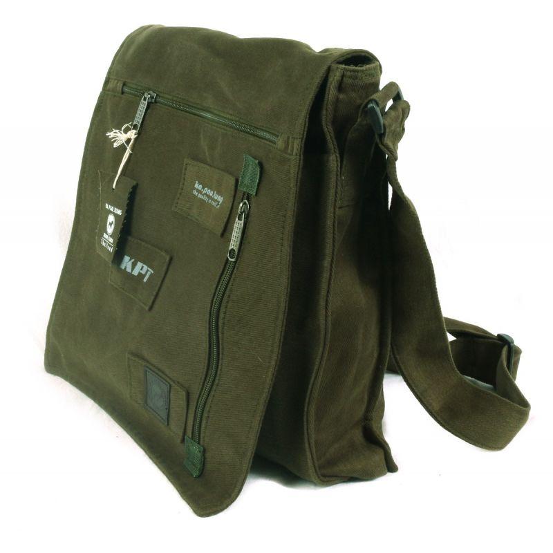 Ka Pao Tung large shoulder bag Green-oliv