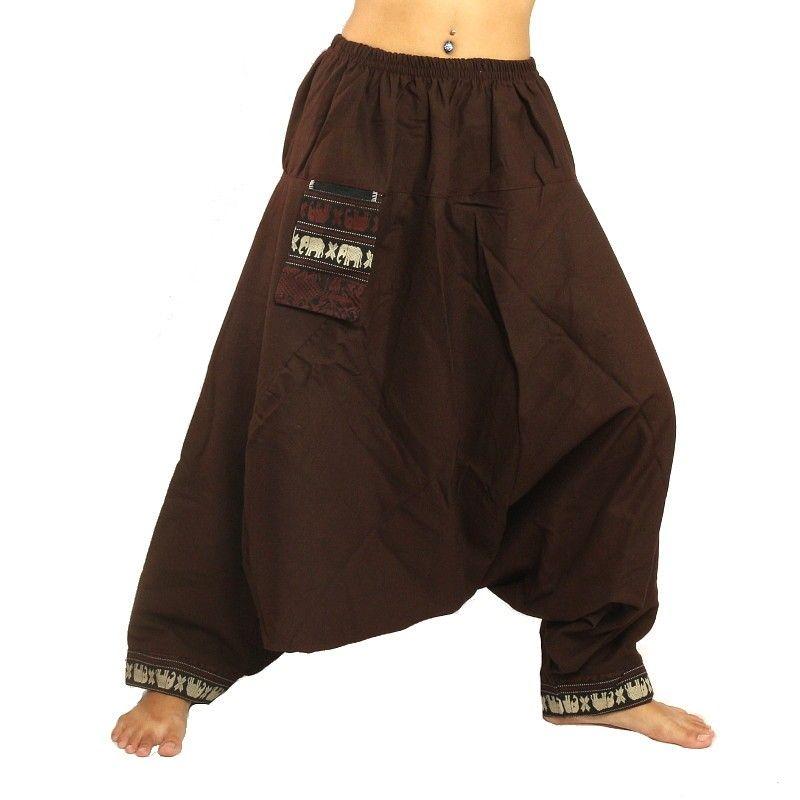 Hmong Hilltribe Aladdin Pants