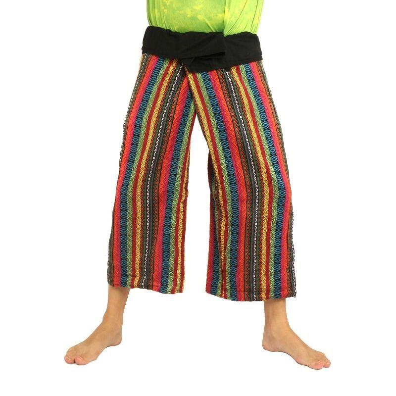 Hmong Hilltribe Thai Fisherman pants in cotton