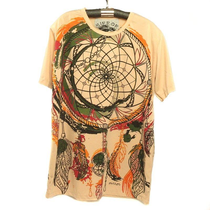 """""""Espejo"""" tamaño Om camiseta M"""