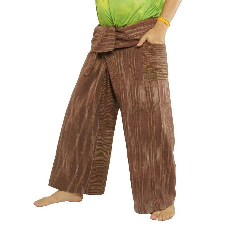"Thai Fisherman pants from ""Chom Thong"", handwoven"