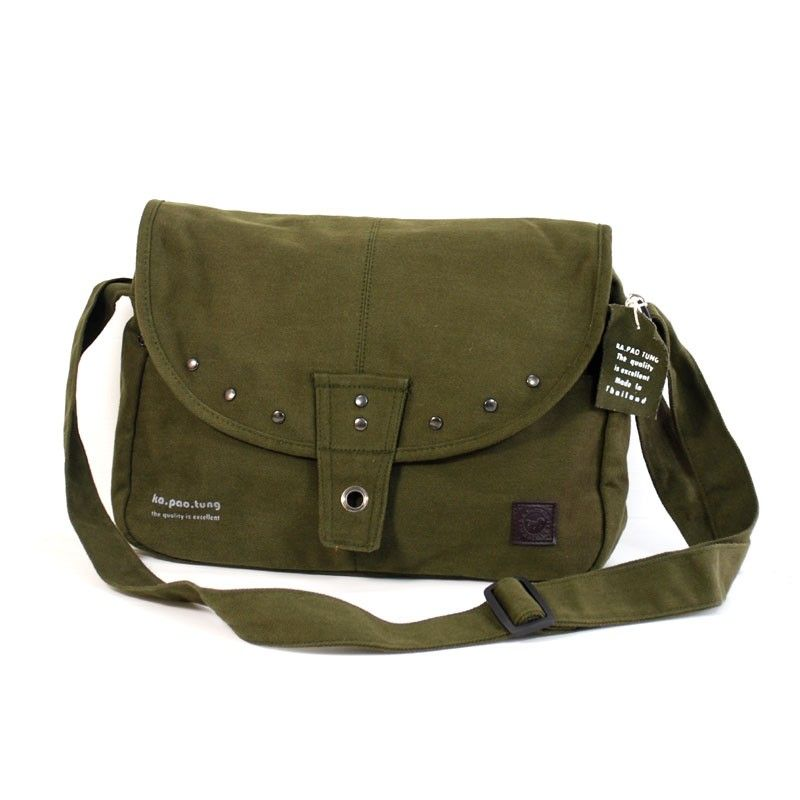 """ka.pao.thung"" shoulder bag - olive"